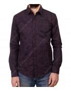 1343 V-8 Рубашка мужская дл.рукав S-XL по 4