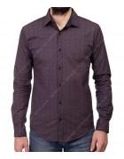 1343 V-9 Рубашка мужская дл.рукав S-XL по 4