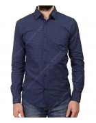 1343 V-10 Рубашка мужская дл.рукав S-XL по 4