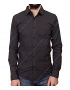 1343 V-11 Рубашка мужская дл.рукав S-XL по 4
