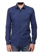 1343 V-13 Рубашка мужская дл.рукав S-XL по 4