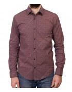 1343 V-16 Рубашка мужская дл.рукав S-XL по 4