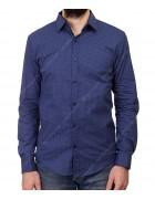 1343 V-19 Рубашка мужская дл.рукав S-XL по 4