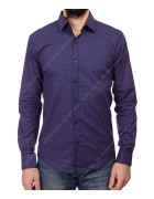1343 V-20 Рубашка мужская дл.рукав S-XL по 4
