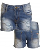 XT1313 Шорты (джинс) девочка 23-28 по 6
