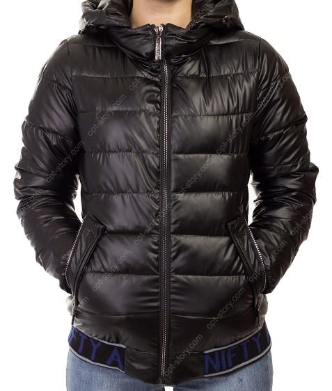 868# черн Куртка женская M-2XL по 4