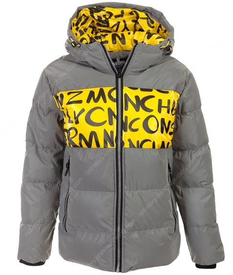 2120 желтый Куртка маль 6-16 по 6