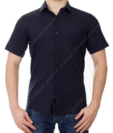 KD51311 т.синий Рубашка мужская 2XL-5XL по 4