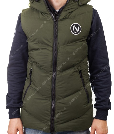 5933 хаки Куртка мужская M-2XL по 4