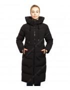 43235 черн. Куртка женская L-5XL по 6