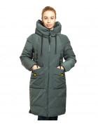 43228 сер/зелен. Куртка женская L-5XL по 6
