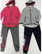 7240 Спорт костюм девочка  6-16 по 12
