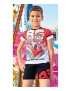 Комплект домашний для мальчика размер 3/4 по 3 штуки 5340