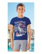Комплект домашний для мальчика размер 3/4 по 3 штуки 5349