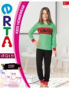 Пижама для девочки 5 - 12  лет по 4 шт. арт. 3210