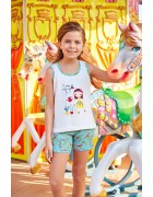 Пижама для девочки размер 11-12 лет по 3 шт. арт. 6568