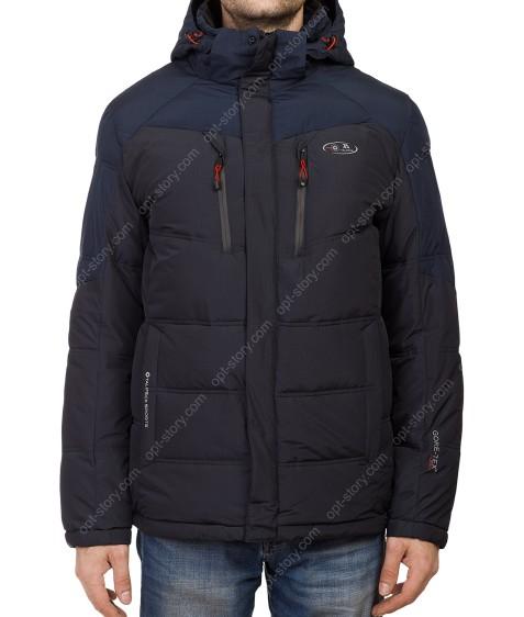 T-065 #11-2 син. Куртка мужская 48-56 по 5