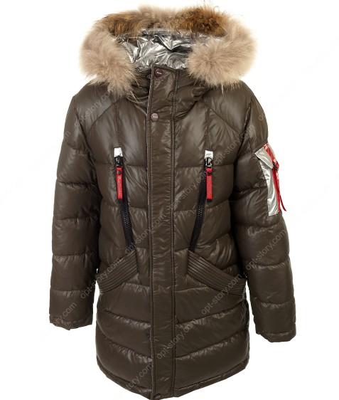 82080-5  хаки Куртка мальчик 140-170 по 6