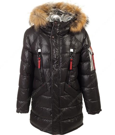 82080-1 черный Куртка мальчик 140-170 по 6