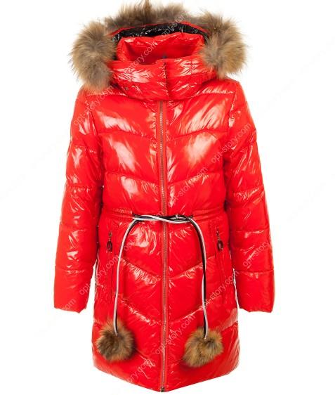 92039#2  красный Куртка дев 134-164 по 6