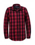 BCS-8491 красн. Рубашка мальчик 110-160 48/12