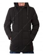 022-1 чёрн. Куртка мужская M- 3XL по 5
