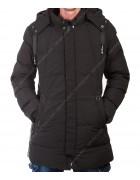 023 чёрн. Куртка мужская M- 3XL по 5
