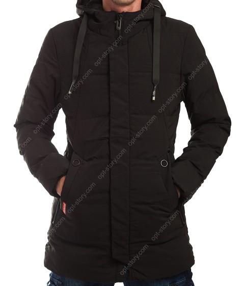 023-1 чёрн Куртка мужская M- 3XL по 5