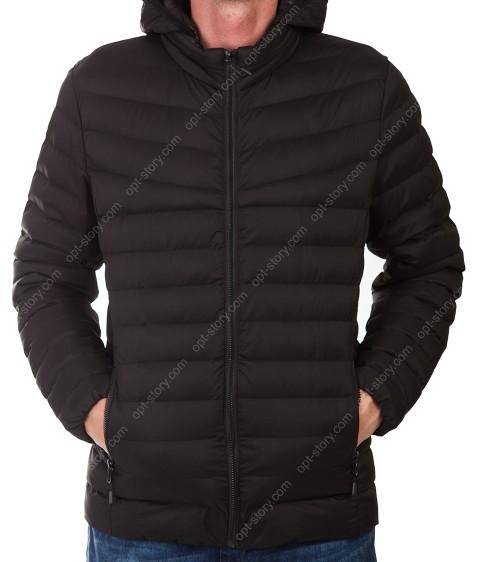 2018 чёрн. Куртка мужская XL- 5XL по 5