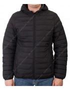 5079 чёрн. Куртка мужская L- 4XL по 5