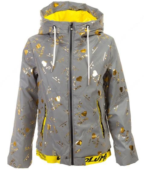 BM111-3# золото Куртка дев. 140-164 по 5