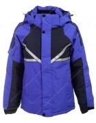 T2059# синий Куртка маль. 116-140 по 5