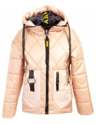 51913 пудра Куртка жен M-2XL по 4