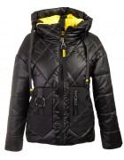 51913 черный Куртка жен M-2XL по 4