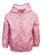 102790D розовый Ветровка мембрана девочка 74-98 по 5