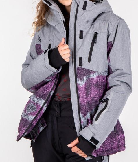 B2335 сер. Куртка женская S-XL по 4