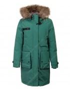 HL-803 зел. Куртка девочка 140-164 по 5