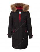 HL-806 черн. Куртка девочка 140-164 по 5 шт