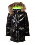 HL-809 черн. Куртка девочка  116-140 по 5 шт