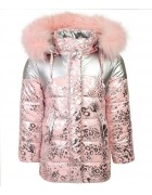 HL-811 пудра Куртка девочка  92-116 по 5