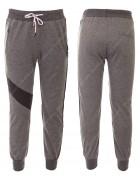 6075 серый Спортивные штаны мальчик 8-16 по 5