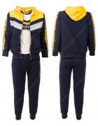 52411 желтый Спортивный костюм мальчик 4-12 по 5