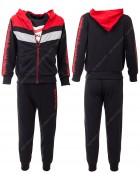 52411 красный Спортивный костюм мальчик 4-12 по 5