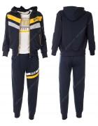 52415 желтый Спортивный костюм мальчик 8-16 по 5