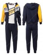 52417 желтый Спортивный костюм мальчик 8-16 по 5