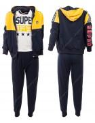 52487 желтый Спортивный костюм мальчик 4-12 по 5