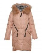 761# пудра  Куртка девочка 140-164 по 5