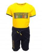 6655 желтый BAX Комплект мальчик 92-110 по 4
