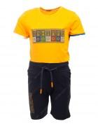 6655 оранж BAX Комплект мальчик 92-110 по 4