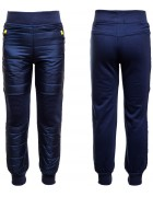 2655 синий Спорт штаны мал 4-12 по 5